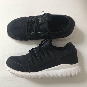 Girl Adidas sneakers